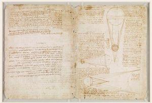 Codex_Leicester by Leonardo DaVinci On Exhibit