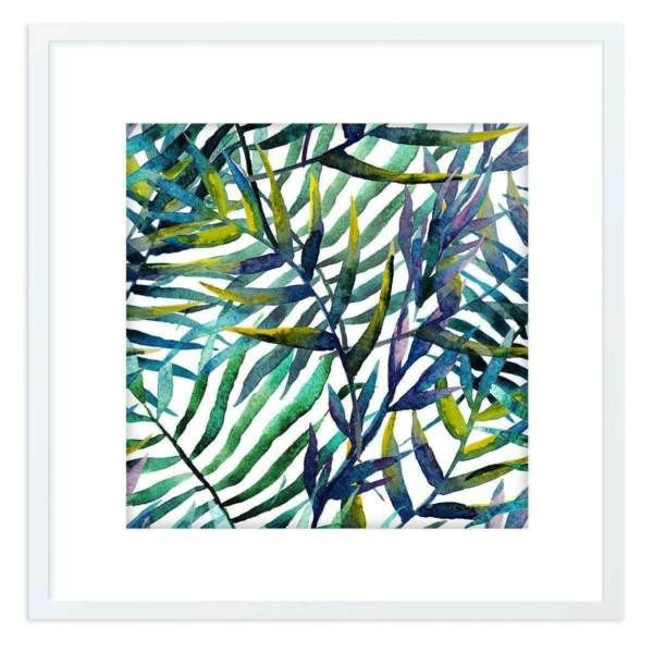 Brand new georgeous framed giclee print set within an acrylic glass mounting Hayman Island and Into The Leaves pictures are both in white frames and ready to ..., 1108965255