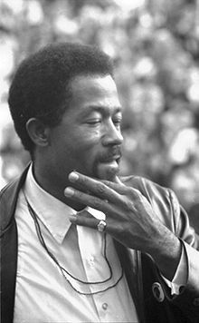 Eldridge Cleaver (August 31, 1935 – May 1, 1998) was a leading member of the Black Panther Party, a convict, and a writer. As editor of the official Panther's newspaper, Cleaver's influence on the direction of the Party was rivaled only by founders Huey P. Newton and Bobby Seale. Cleaver and Newton eventually fell out with each other, resulting in a split which weakened the Party. He later turned to the right, becoming a Mormon and a Republican Party member.
