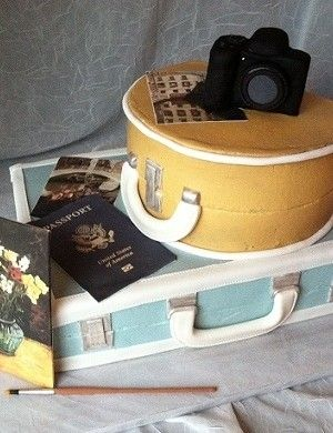 Top Luggage Cakes - Top Cakes - Cake Central