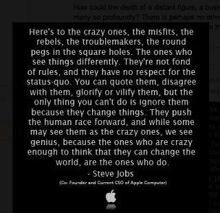 Here´s to the crazy ones!!!! fd
