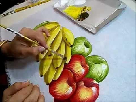 Artesanato Pintura em Tecido (7)
