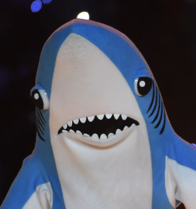 When you realize that you've accidentally had one drink too many: | Katy Perry's Sharks Were The Best Part Of The Super Bowl