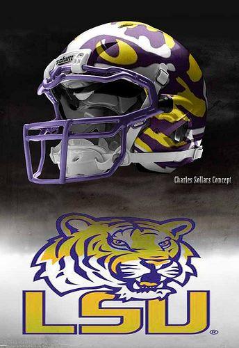 lsu #lsu we need these helmets!!!!