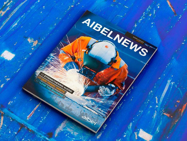 Redaksjonell design for Aibel - Appex http://buff.ly/1Koobhx