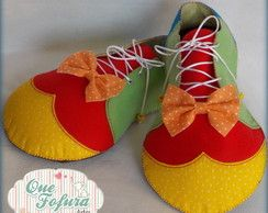 Sapato de Palhaço (peça decorativa)