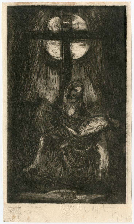 Pieta pod Křížem - The Pietá