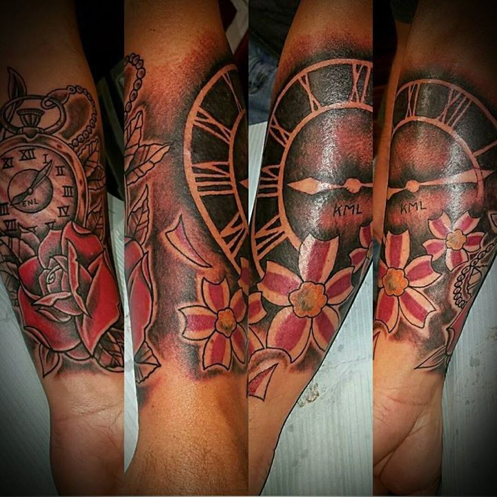 The 25 best clock tattoos ideas on pinterest time piece for 42 tattoo mansfield ohio