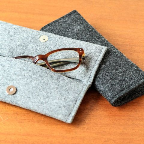Thick Felt Glasses Case or Pencil Case - Stationery & Books - Berylune