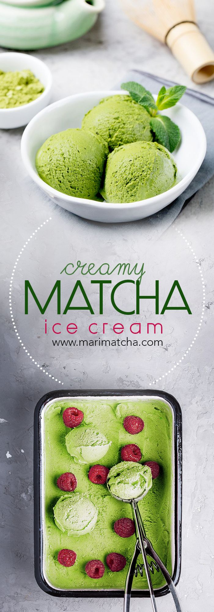 Desserts - Matcha Ice Cream