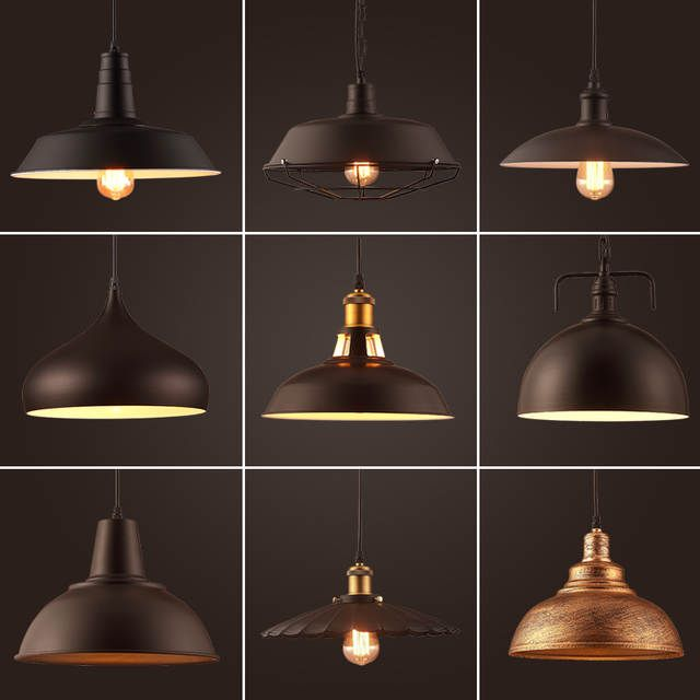 Wholesale Vintage Industrial Lighting Copper Lamp Holder Metal Pendant Light American Aisle Lights Lamp Vintage Industrial Lighting Pendant Light Copper Lamps