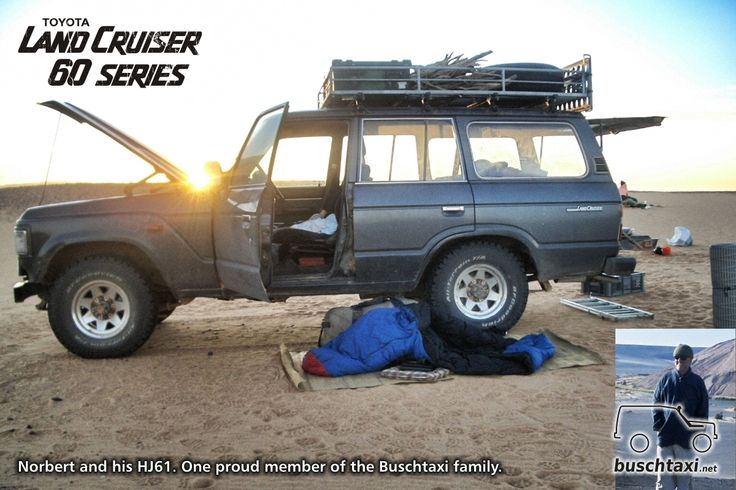 norbert and his land cruiser hj61 at wau an namus in libya one proud member of the buschtaxi. Black Bedroom Furniture Sets. Home Design Ideas