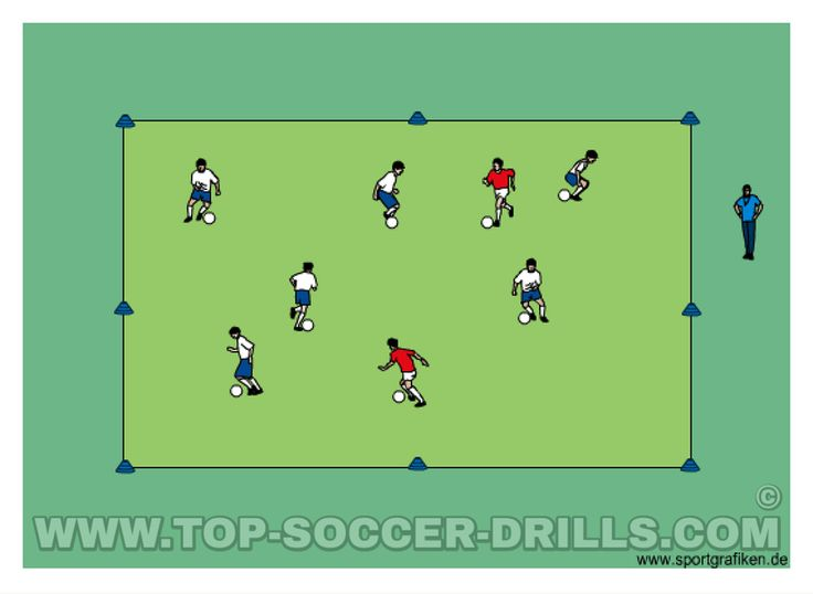 Free Soccer Training Tips Top Soccer Drills. All of these exercises can act as warm up routines prior to moving into a more intense phases in practice.