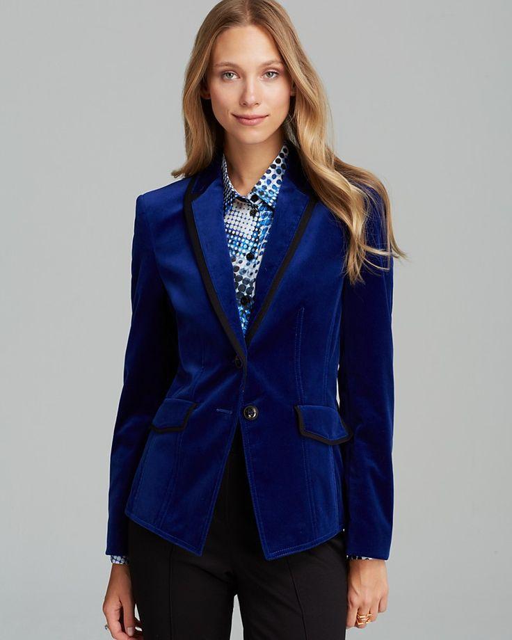 Blazers For Women: BASLER Velvet Blazer For Women