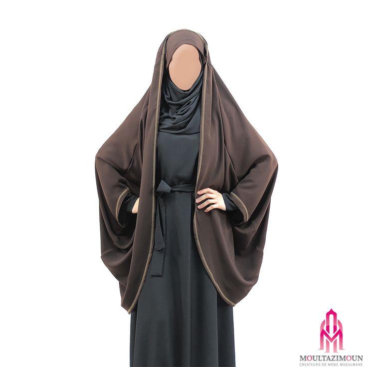 Gilet Jilbab Madina Caviary - Al Moultazimoun #Overhead #khimar #jilbab #cardigan #jilbab #best #abaya #modestfashion #modestwear #muslimwear #jilbabi #outfit #hijabi #hijabista #long #dress #mode #musulmane #clothing