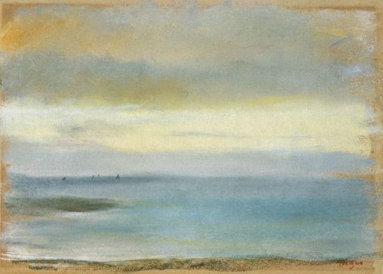 Das Kunstwerk Marine sunset - Edgar Degas liefern wir als Kunstdruck auf Leinwand, Poster, Dibondbild oder auf edelstem Büttenpapier. Sie bestimmen die Größen selbst.