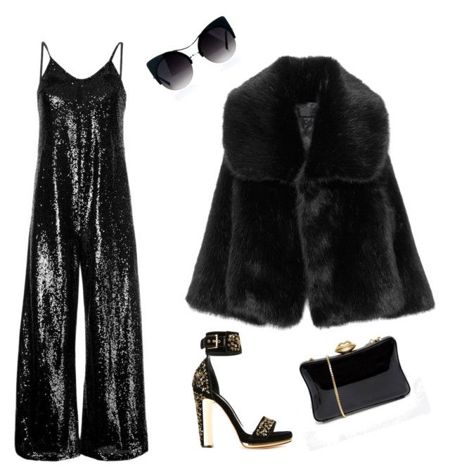 """""""Event"""" by biudinca on Polyvore featuring G.V.G.V., Alexander McQueen and Lulu Guinness"""