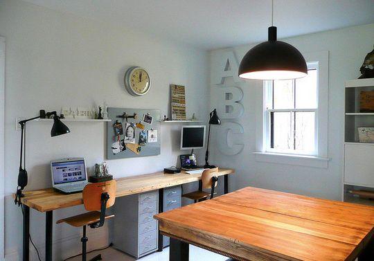 workspaceStudios Spaces, Offices Spaces, Crafts Room, Work Spaces, Work Places, Industrial Offices, Offices Workspaces, Vintage Industrial, Home Offices