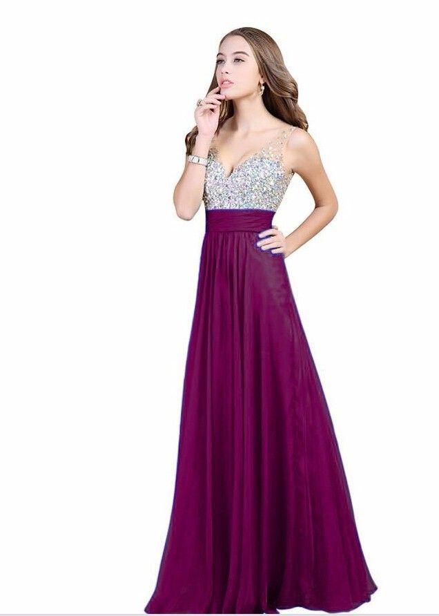 Mejores 209 imágenes de Vestidos en Pinterest | Vestidos largos ...