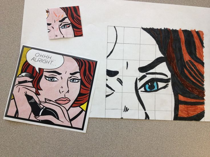 In this project, students are asked to take a famous piece of art and increases its size by a scale factor of at least three. The extra challenge is that each piece of art is divided into 2-4 pieces and each student only gets a portion of the original. The more accurate their measurements, the better it will match up with the pieces their teammates are creating.