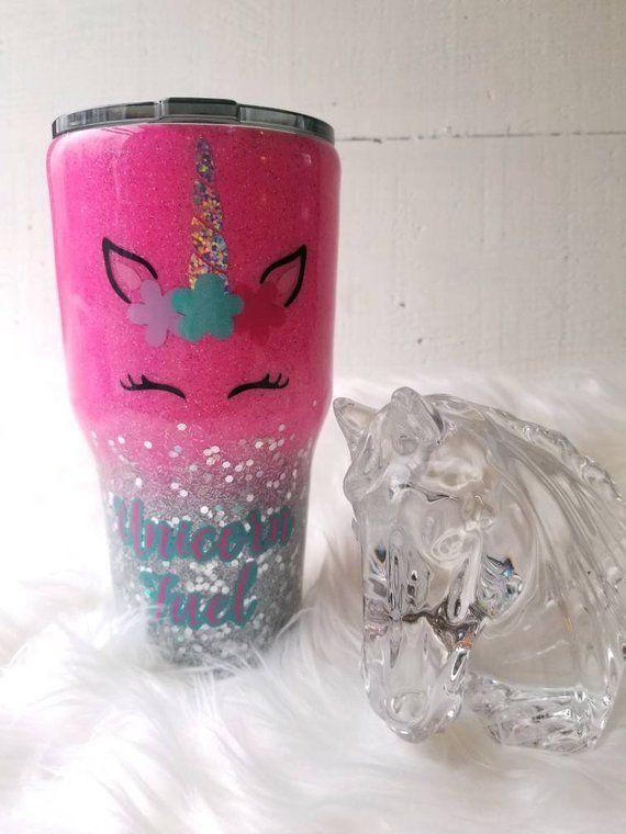 on sale 4263b 2a7e3 Glitter Yeti,UNICORN hot pink silver bling fade, glitter dipped  tumbler,Custom Stainless steel, Ozar  Products  Pinterest  Ozark  tumbler, Glitter cups ...