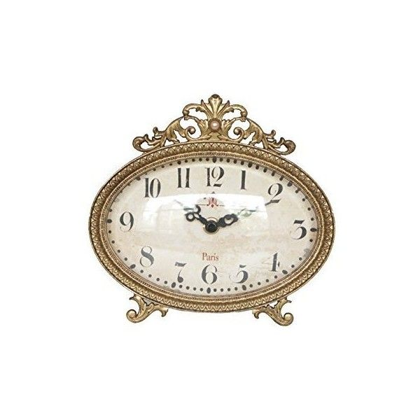 Konigswerk Vintage Retro Old Fashioned Decorative Quiet Non-ticking... ❤ liked on Polyvore featuring home, home decor, clocks, old fashioned alarm clock, battery operated alarm clock, desktop alarm clock, quartz clock and battery alarm clock