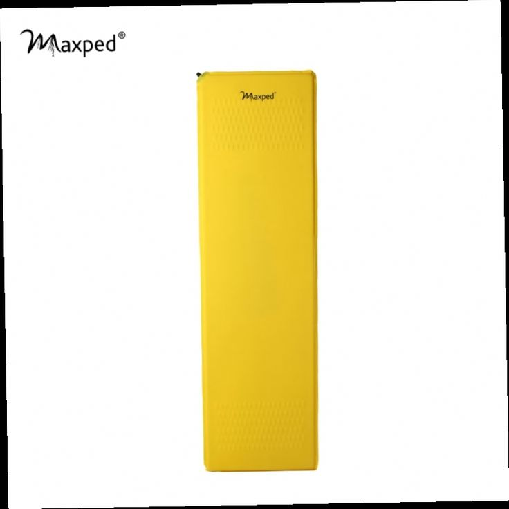 47.20$  Buy now - http://aliaxz.worldwells.pw/go.php?t=32342558265 - Maxped Environmental TPU Ultralight Self Inflatable Mat Outdoor Camping Mattress Dampproof Pad Cushion Square R-value 3.3 Yellow 47.20$
