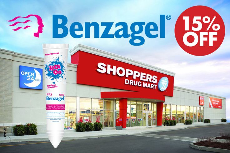 Reminder! Your favourite Benzagel products are now on sale at Shoppers Drug Mart stores all across Canada! Save 15% on Benzagel Acne Gel (30g and 60g), Acne Wash (85g), and Spot On until Friday October 24th! Bonus Optimum Points are also available with your purchase!