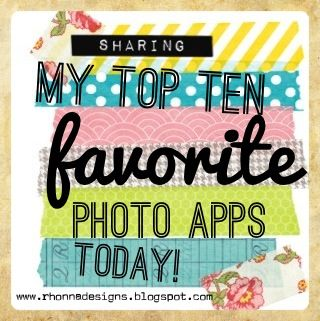 Rhonna DESIGNS: My fave photo apps...beginning with Instagram!