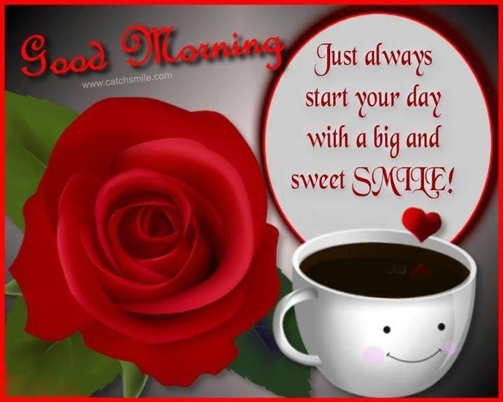 Good Morning coffee good morning red rose good morning greeting good ...