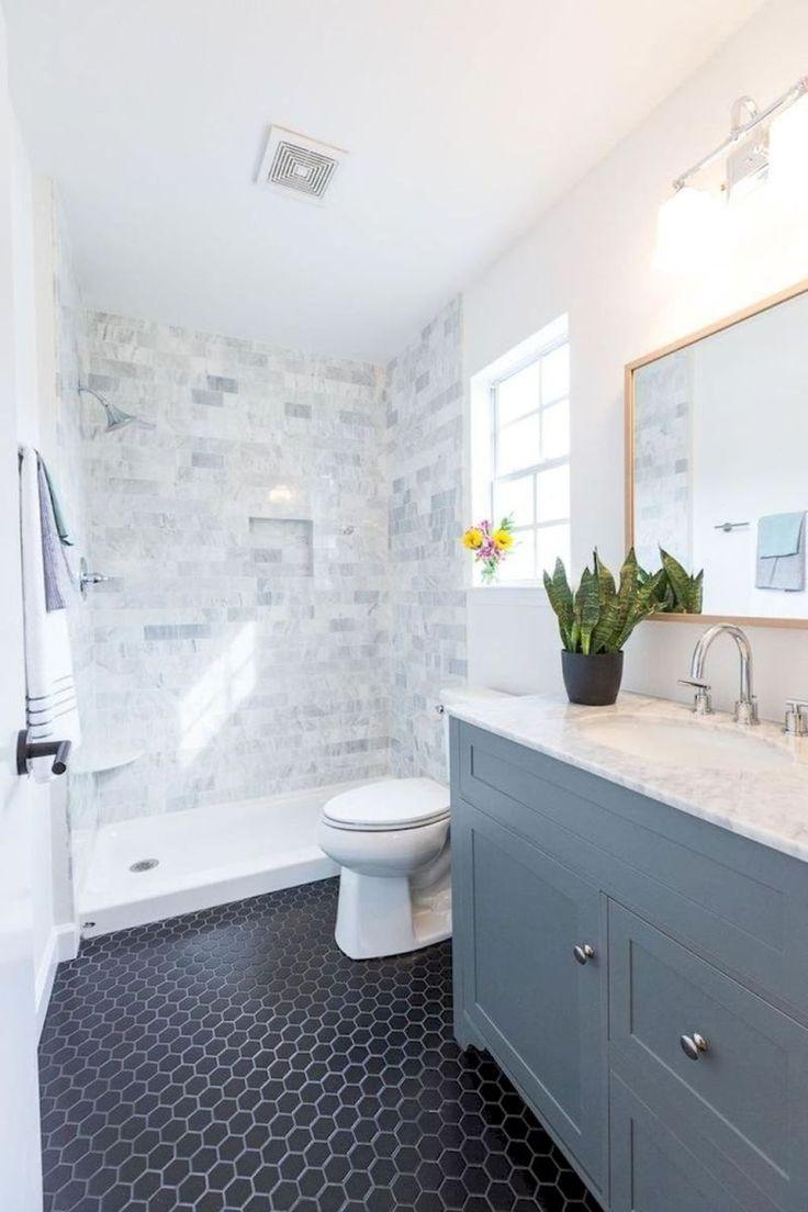 Top Rustic Farmhouse Bathroom Ideas (64)