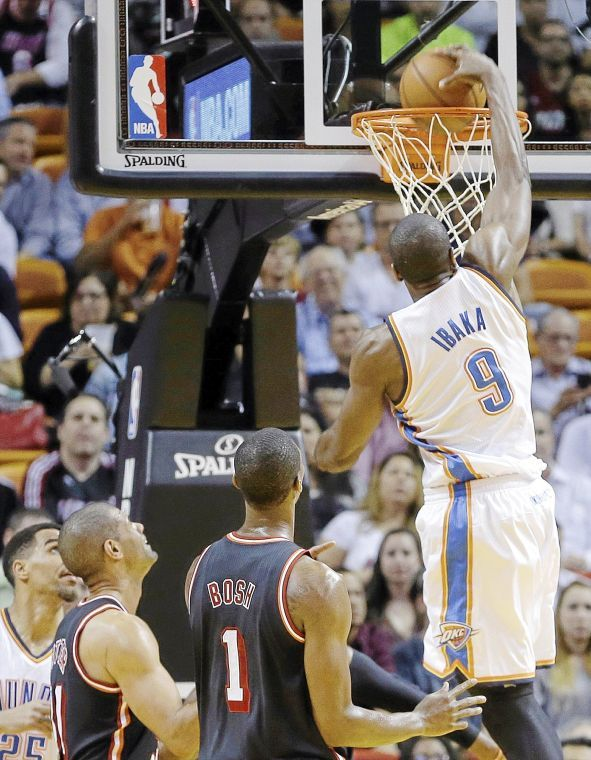 OKC Thunder: Heat-Thunder game draws highest ever Tulsa audience for NBA regular season game on ESPN