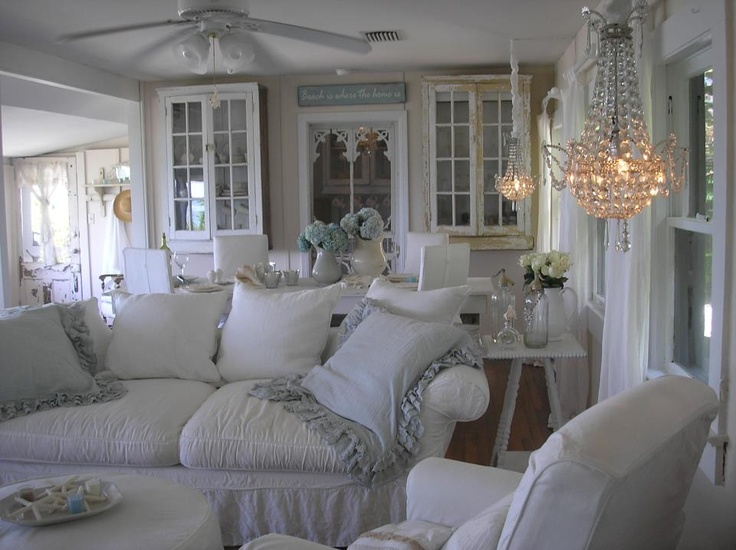 Susie S Holt Beach Cottage Living Room Dream Design