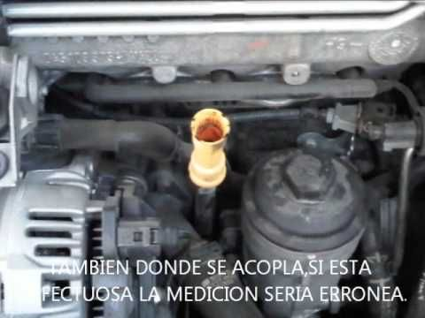 COMO SE MIDE EL NIVEL DE ACEITE EN MI VEHICULO.  # Grabaciones # Videos # Cadenas # cadenas nieve # mantenimiento # transporte # neumaticos # carroceria # nivel aceite