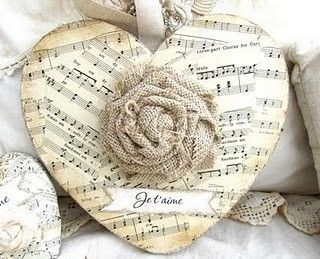 Could make these with all the extra sheet music we have. by kristenrenshaw