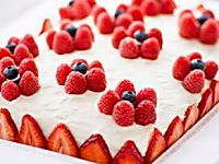 In this beautiful and simple Chantilly cake recipe, fresh berries are layered with whipped cream and delicate sponge cake for a special  sweet that's as well suited for a bridal shower  as it is for a birthday or graduation party or other special occasion.
