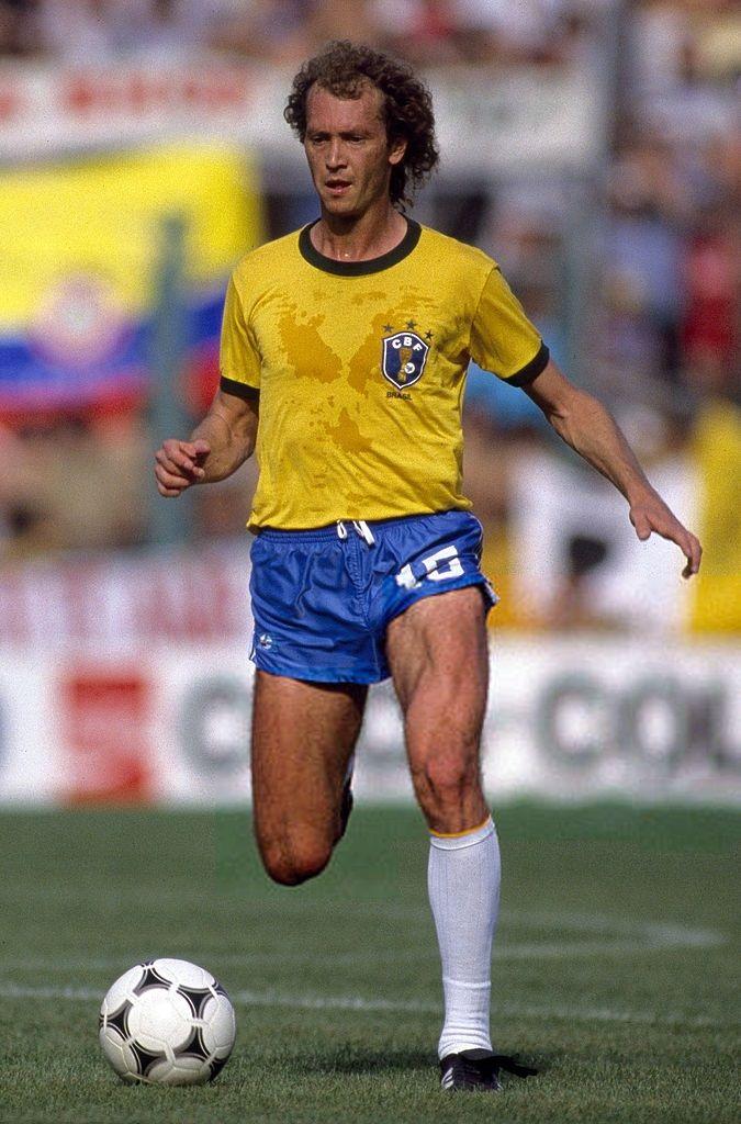 Football World Cup 1982, Brazil v Italy, Falcao. July 05, 1982