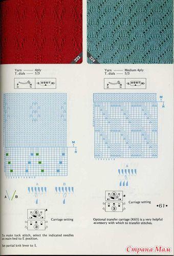knitting pattern II TOYOTA Pattern Rib 2