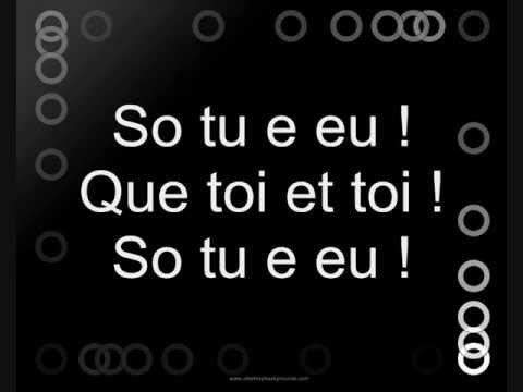 David Carreira - So tu e eu Ft Lea Castel (Letra)