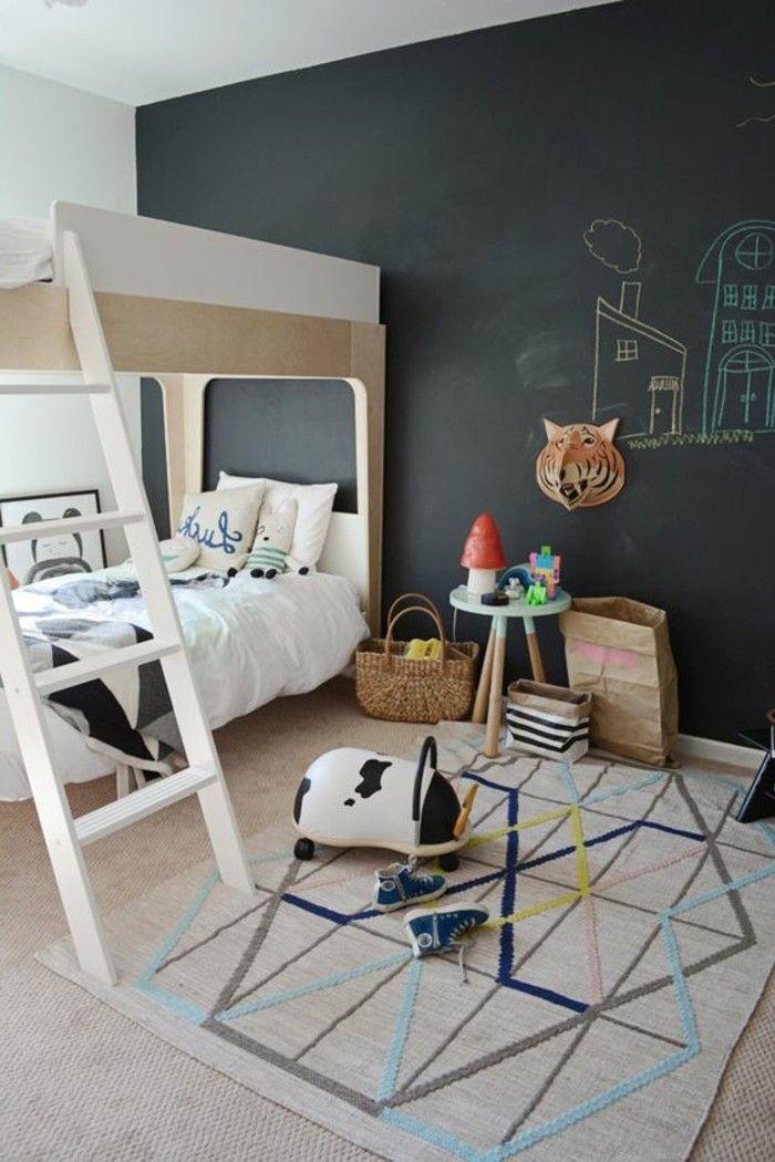 nos astuces en photos pour peindre une pi ce en deux couleurs chambre d 39 enfant. Black Bedroom Furniture Sets. Home Design Ideas