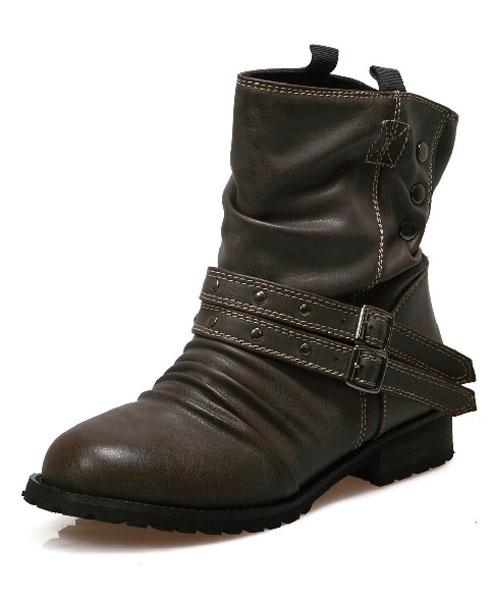 Pleated PU Boots love!!!