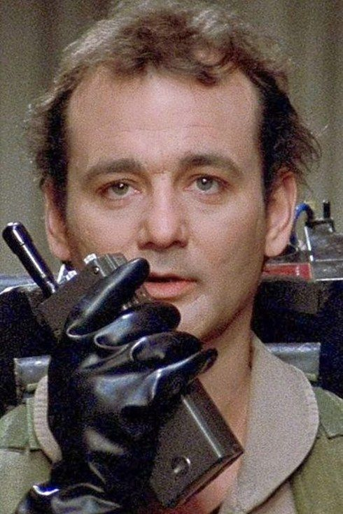 """Bill Murray (Peter Venkman) 