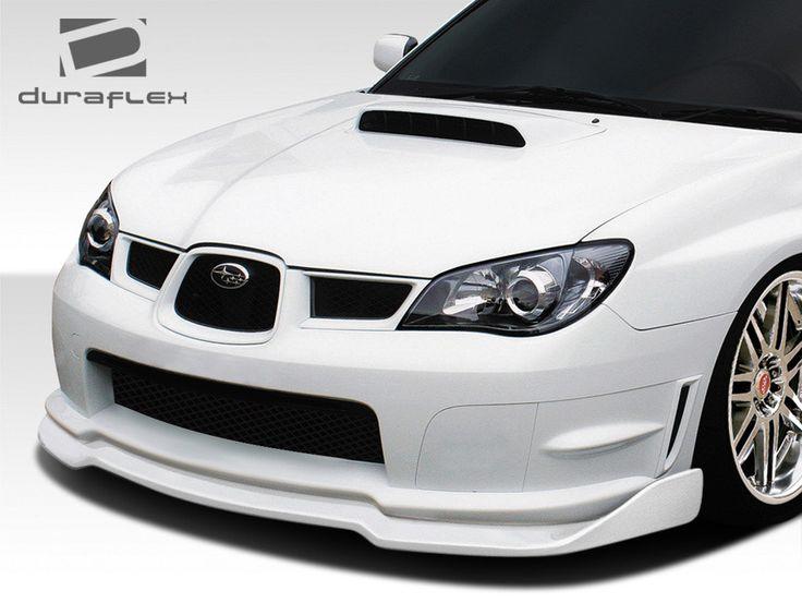 2006-2007 Subaru Impreza WRX STI 4DR Duraflex C-Speed 2 Front Lip Under Spoiler Air Dam - 1 Piece