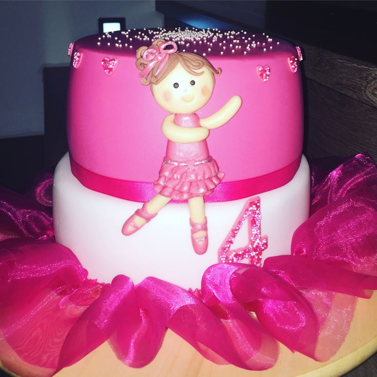 Cake balet baletka