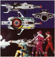 power rangers time force vortex blaster | Arsenal (Time Force) - RangerWiki - the Super Sentai and Power Rangers ...