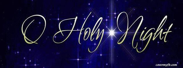 O Holy Night Facebook Cover