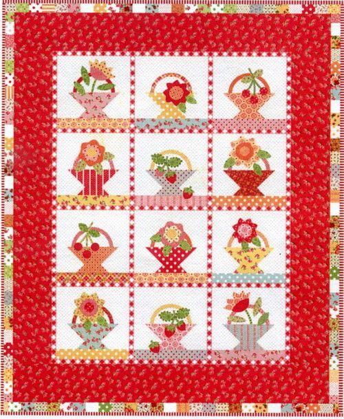 117 best Basket Quilts images on Pinterest   Basket, Beautiful and ... : basket quilts - Adamdwight.com
