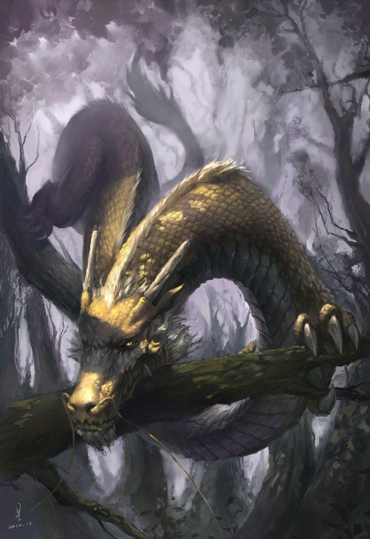 хочу фото земляного дракона высокую