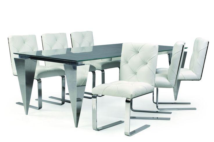 Matbord och stolar i modern design från Bretz www.vallaste.se