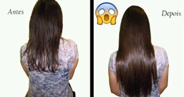 Receita caseira para estimular o crescimento do cabelo. Com apenas dois ingredientes. Façam e vocês vão amar os resultados.